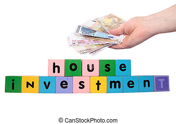 joint house investment in letters