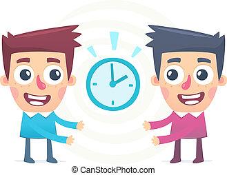 jointure, gestion, temps