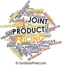 jointure, produit, établissement des prix