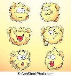 Jojo - cute smiley set