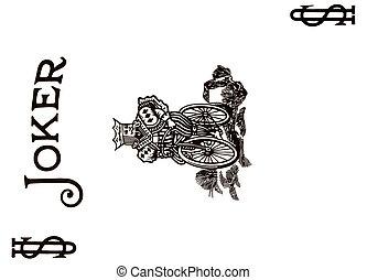 Joker poker card