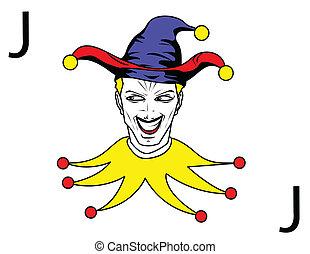 joker, spielen karte