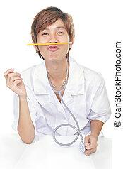 Joking doctor