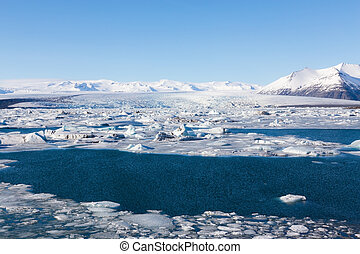Jokulsarlon, Glacial lake