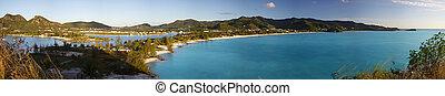 Jolly Beach Aerial View, Antigua