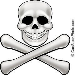 Jolly Roger Skull and Crossbones