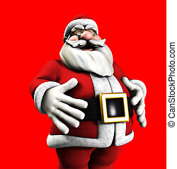 Jolly Santa - A jolly Santa Claus for the Christmas holidays...