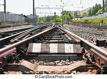 jonction chemin fer