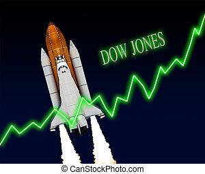 jones, indice, dow, grafico