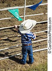 jonge, cowboy