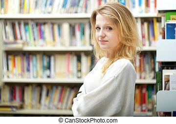 jonge, student