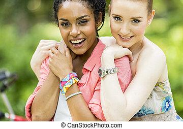 jonge vrouwen