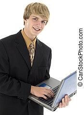jonge, zakenmens