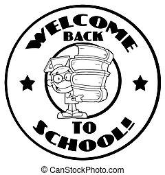 jongen, boekjes , school
