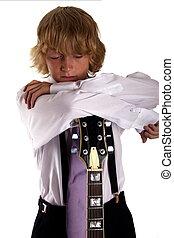 jongen, muzikalisch