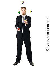 jonglera, man