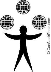 jongleren, globaal