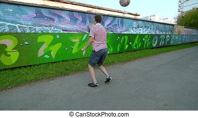 jonglerie, a, football