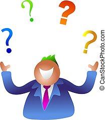 jonglerie, questions