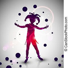 jongleur, farceur