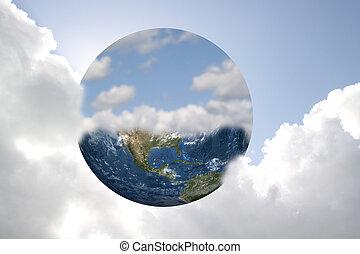 jord, himmel