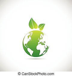 jord, konstruktion, grønne