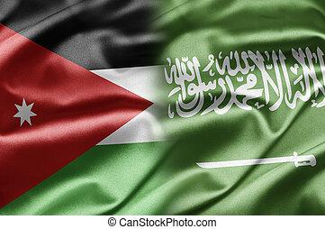 Jordan and Saudi Arabia