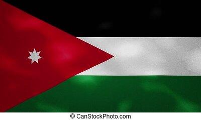 Jordan dense flag fabric wavers, background loop - Jordan ...