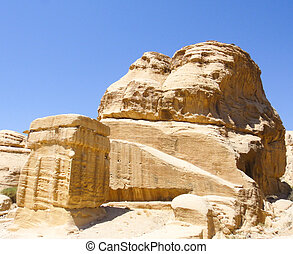 Jordan Petra Ancient Tombs