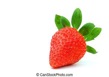 jordbær, æn