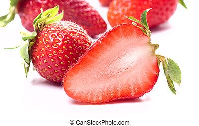 jordgubbe, frukt