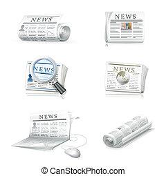 jornal, cobrança, eps10