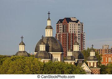 josaphat, 大聖堂, st. 。, エドモントン