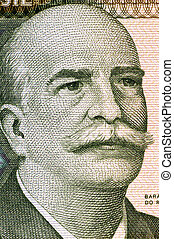 Jose Paranhos, Baron of Rio Branco (1845-1912) on 1000...