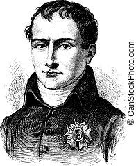 Joseph Bonaparte, vintage engraving. - Joseph Bonaparte,...