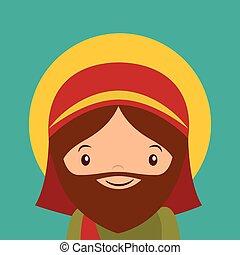 joseph, saint, icône