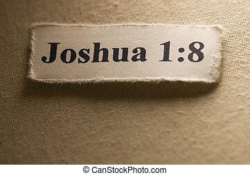 joshua, 1:8