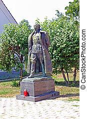Josip Broz Tito, statue - Statue of Josip Broz Tito, first...