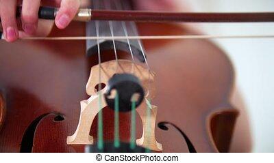 jouer, violoncelle, emotionally, arc
