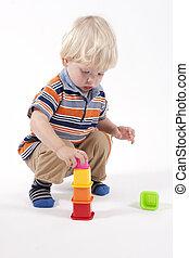 jouet éducatif, jeux, enfant