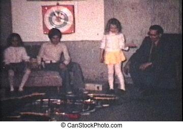 jouet, 8mm, ensemble, route, course, -1973, vendange