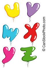 jouet alphabet, -, ballons, 6