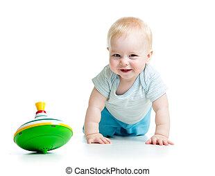 jouet bébé, jouer, whirligig