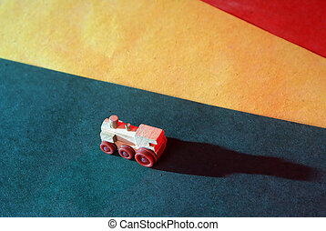 jouet bois, locomotive