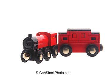 jouet bois, voiture, train, &