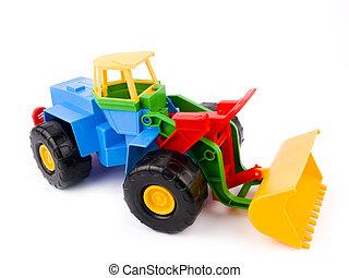jouet, coloré, gosse