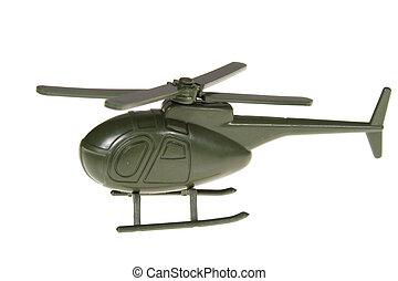 jouet militaire, hélicoptère