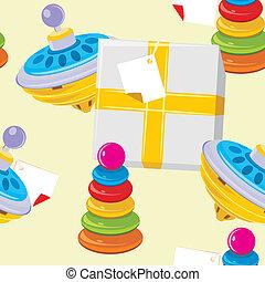 jouet, pyramide, enfants, whirligig