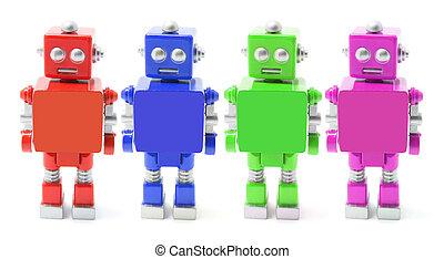 jouet, robots