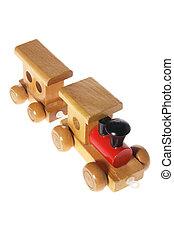 jouet, train bois